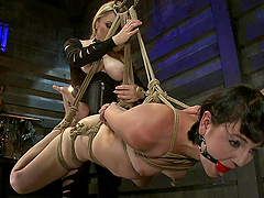 Intense Training of Bondage Slave
