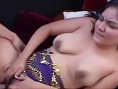 Busty Indian Teen Has Her hairy Pussy Drilled By A Big Cock