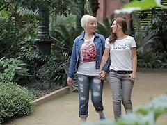 Lesbian Hardcore and Kinky Sex Go On..