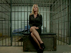 Blonde office chick gets fucked by an..