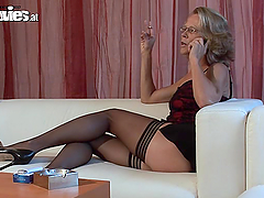 Big dick casting by a sexy and hungry..