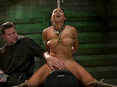 Asian Bitch Gets Very Hard BDSM Training