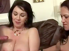 Hot Mom And Teen Daughter Share Her..
