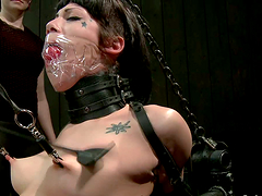 Kinky Asphyxia Noir gets toyed and..