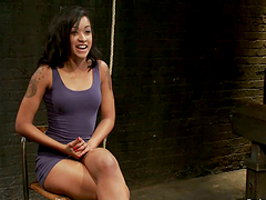 Hot Brunette Skin Diamond Gets..