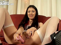 Special Dildo Gives Long Heavy Orgasms..