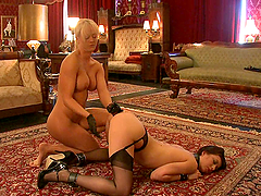Naughty Slave Receives Double..
