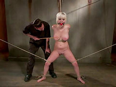 Cherry Torn gets her smooth pussy..