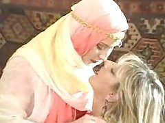 Arab Lesbian Babes Have Hardcore Sex..