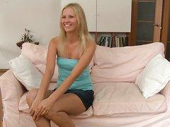 Gorgeous Blonde Hailey Gets Her Round..