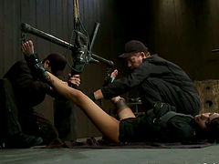 Bondage Action with Gia Dimarco..