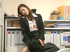 Yuria Ashina blows and gets..