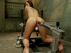 Naughty Lily Carter gets her tight ass..