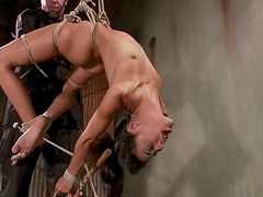 Lyla Storm enjoys being bound and..