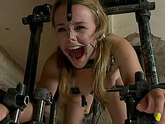 Awesome Bondage Scene with Kickass Sex..