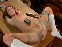 Sexy guidance councilor is torturing..