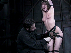 Extreme Nipple Punishment in BDSM with..