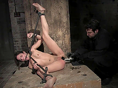 A Pleasuring Bondage Clip For A Kinky..