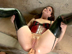 Anal Fuck With A Strapon For A Hot Babe