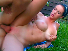 Virgin Chick with Big Tits Gets Fucked..