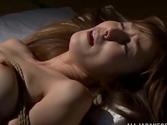 Reiko Sawamura gets tied up and..