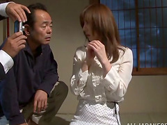 Mature Reiko Sawamura gets tied up and..