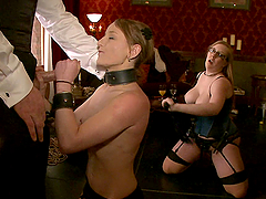 Blowjobs & Fisting in Kinky BDSM Video