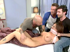 Teacher Syren De Mer Gets Gangbanged..