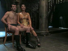 Kinky Mika Tan fingers and toys guy's..