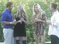 Drunk Blonde MILFs Courtney Cummz and..