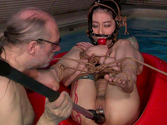 Sexy Asian Slut's Tortured And Almost..