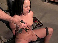 Alexa Von Tess gets dominated by Aiden..
