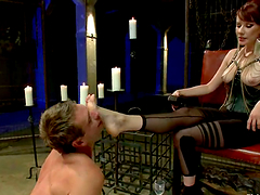 Naughty Femdom and Pegging Action by..