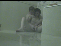 Homemade video of couple having sex in the bathroom