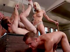 Nastiest Blonde Lorelei Lee Dominates..