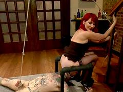 Redhead Maitresse Madeline Having Fun..
