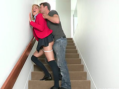 Lia Lor deepthroats and gets fucked in..