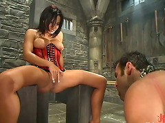 Face Sitting and Cock Torturing in..