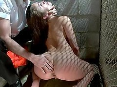 Booty prisoner is getting fucked by..
