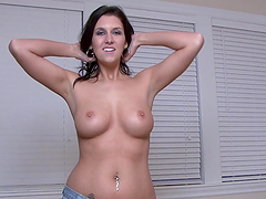 Hot Ass Hot Tits Slim Brunette Solo Model