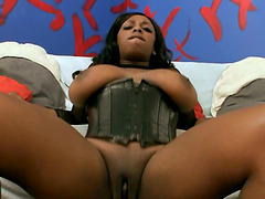Amazing Black chick gets fucked in..