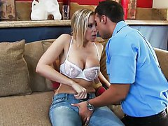 Hot Blonde MILF Julia Ann Gives Titty..