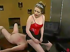 Spanking and Face Sitting by Princess..