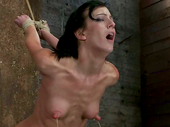 Toyed Elisa Graves Gets Tied Up by..