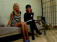Redhead Cop Elle Alexandra Fucks and..
