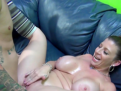 Hot Sex With The Busty Blonde Milf..
