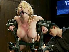 Blonde with Big Tits Madison Scott..
