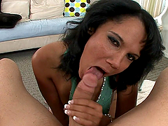 POV fun with the thick mommy Anjenette..