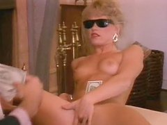 Retro video with three horny girls..