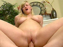 Hot Sex With The Busty Blonde Teen..